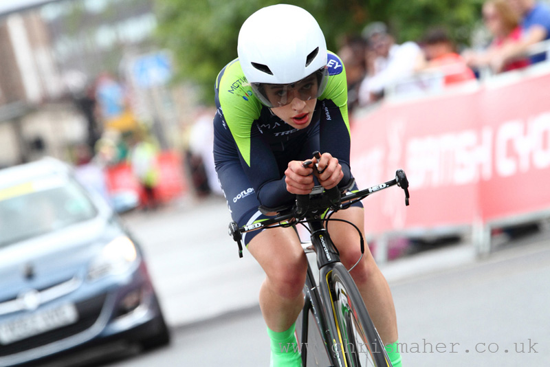 British Cycling National Time Trial Championships 2016 | Stockton-On-Tees - Alice Cobb