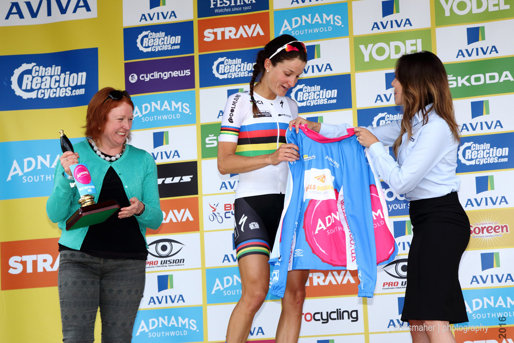 Aviva Women's Tour 2016 Stage One, Best British Adnams Lizzy ARMITSTEAD Boels Dolmans Cycling team