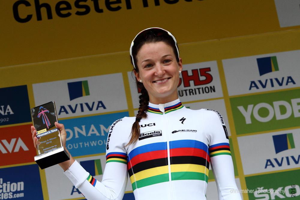 Aviva Women's Tour 2016 | Stage 3 winner 21 ARMITSTEAD Elizabeth Boels Dolmans Cyclingteam GBR