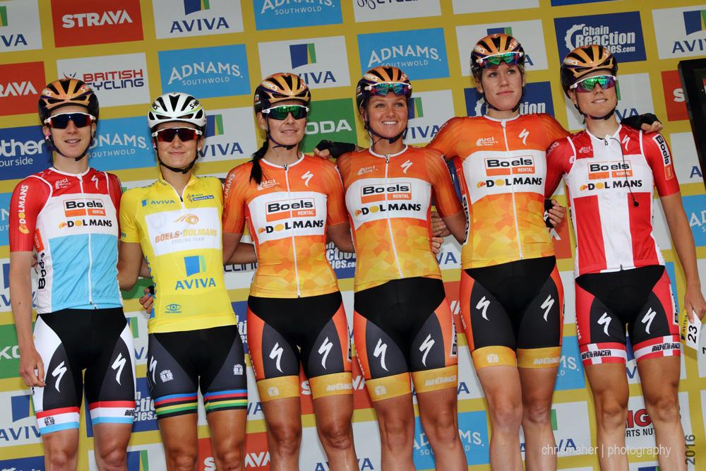 Aviva Women's Tour 2016 | Stage 4 Nottingham to Stoke-on-Trent - Boels Dolmans Cyclingteam