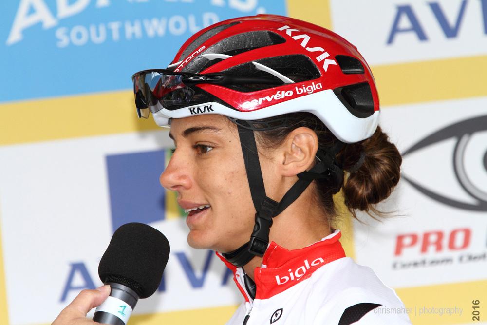 Aviva Women's Tour 2016 | Stage 4 Nottingham to Stoke-on-Trent - Ashleigh Moolman Pasio
