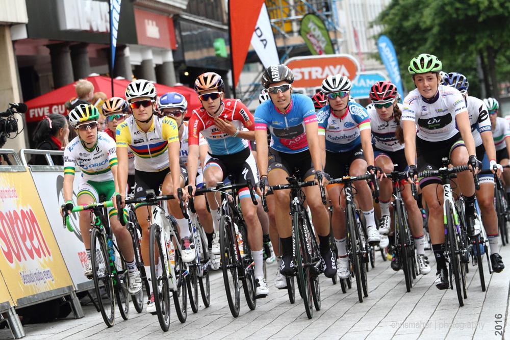 Aviva Women's Tour 2016 | Stage 4 Nottingham Race Start...