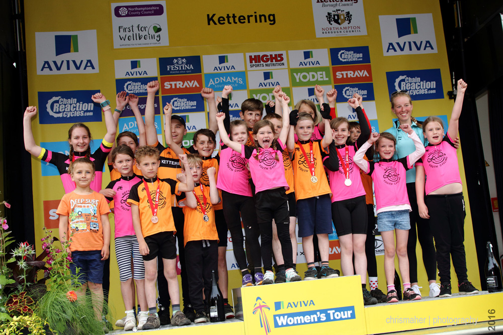 Aviva Women's Tour 2016 | Stage 5 Northampton to Kettering