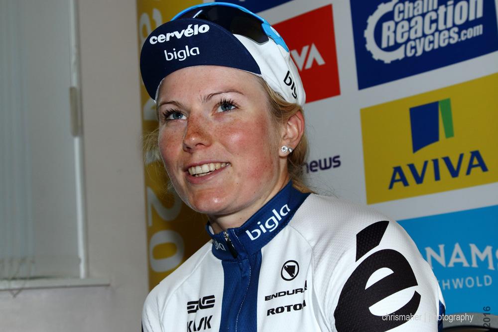 Lotta Lepistӧ | Aviva Women's Tour 2016 Stage 5 winner