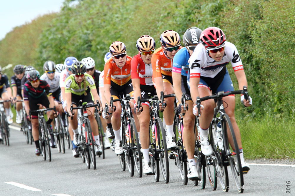 Chasing peloton, Aviva Women's Tour 2016 stage five at 4mins behind