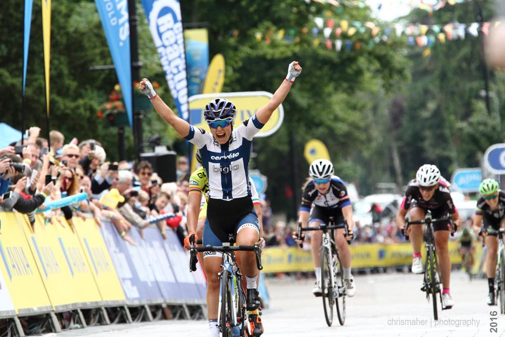 Lotta Lepistӧ | Aviva Women's Tour 2016 Stage five Winner
