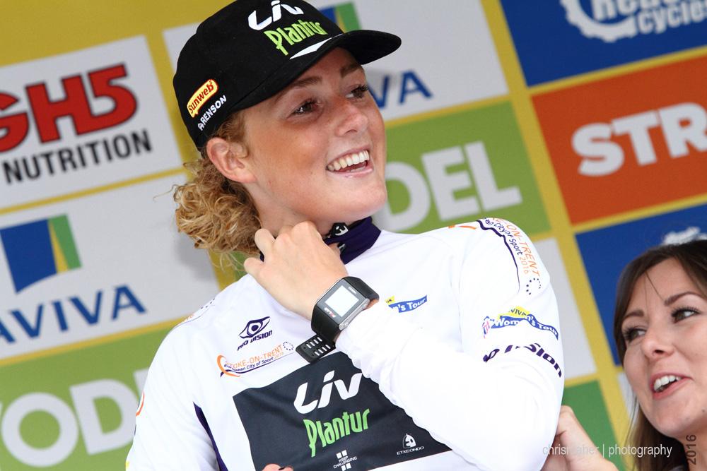 Floortje Mackaij | Aviva Women's Tour 2016 Best young Stoke-on-Trent European City of sports Winner