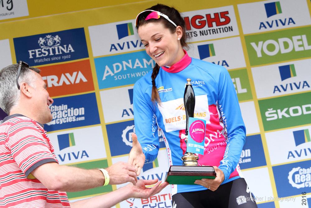 Lizzie Armitstead | Aviva Women's Tour 2016 Adnams Best British Winner