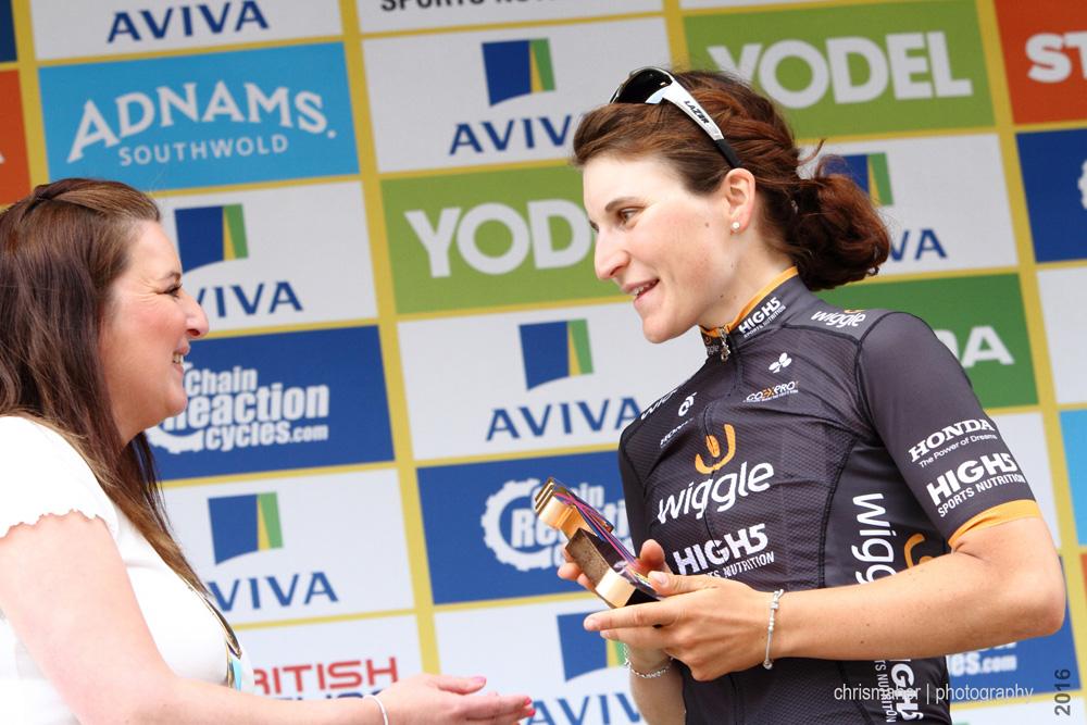Elisa Longo Borghini | Aviva Women's Tour 2016 third overall