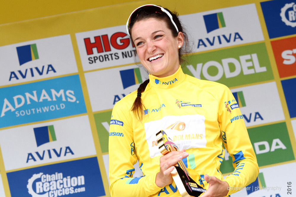 Lizzie Armitstead | Aviva Women's Tour 2016 Overall Winner