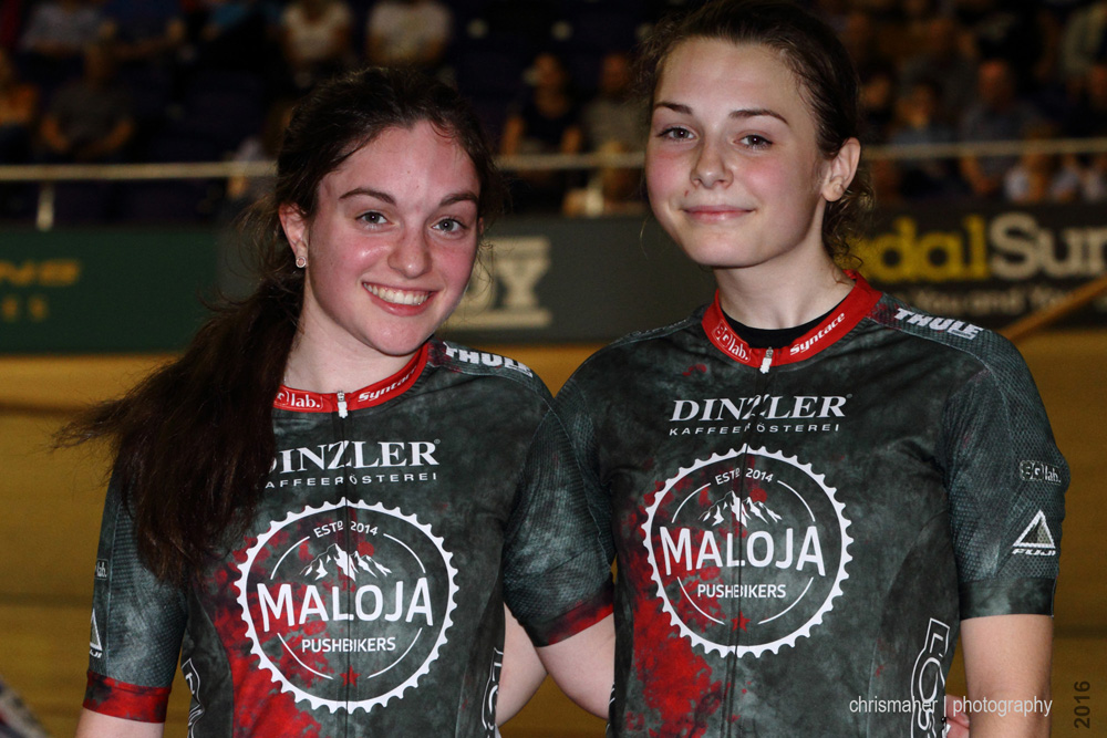 Revolution UK Championship 2016   Round 2 Glasgow - Gabriella Homer & April Tacey