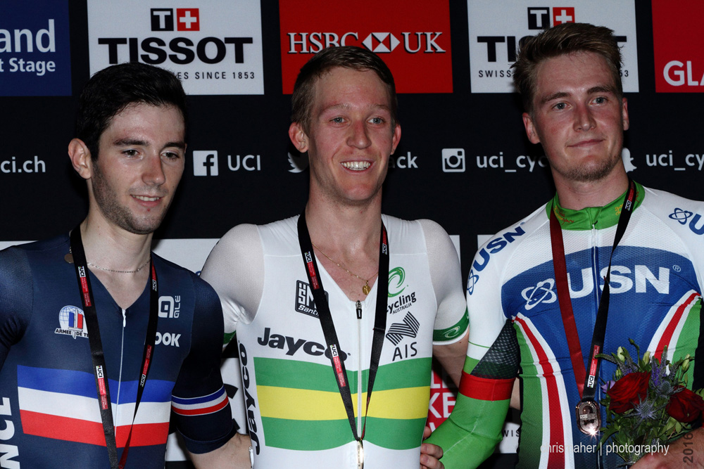 UCI Track World Cup 2016/7 | Glasgow - Round One, Day Two... Points Race Podium