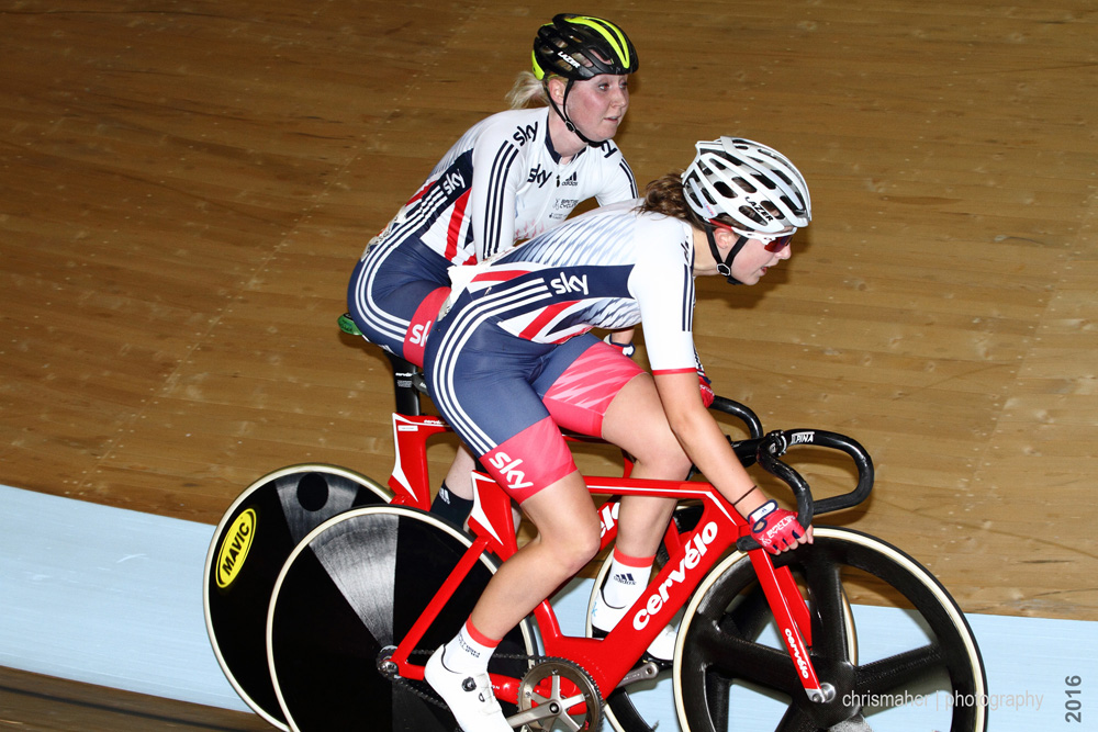 UCI Track World Cup 2016/7 | Glasgow - Round One, Day Two... Women's Madison