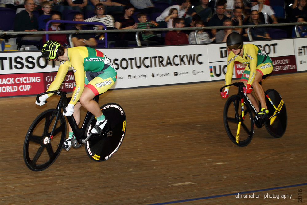 UCI Track World Cup 2016/7 | Glasgow - Round One, Day Two... Women's Sprint Heats