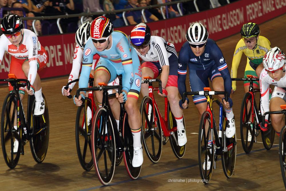 UCI Track World Cup 2016/7 | Glasgow - Round One, Day Three. Women's Omnium