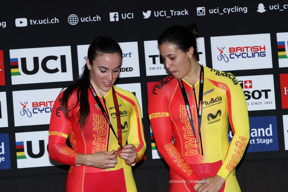 UCI Track World Cup 2016/7 | Glasgow - Round One, Day Three. Women's Team Sprint.