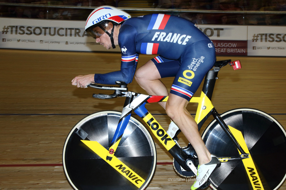 UCI Track World Cup 2016/7 | Glasgow - Round One, Day Three. Sylvian Chavanel