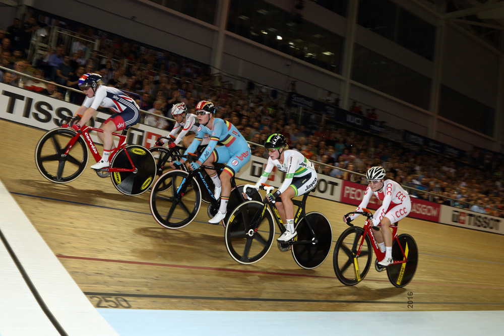 UCI Track World Cup 2016/7 | Glasgow - Round One, Day Three. Women's Omnium Points Race
