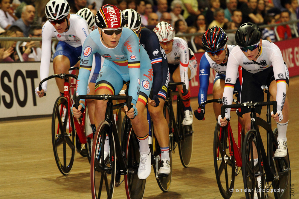 UCI Track World Cup 2016/7 | Glasgow - Round One, Day Three. Women's Omnium Tempo