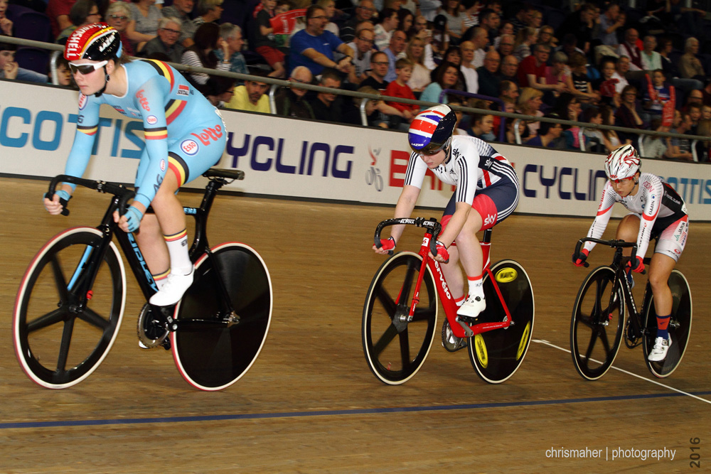 UCI Track World Cup 2016/7 | Glasgow - Round One, Day Three, Women's Omnium Tempo Race