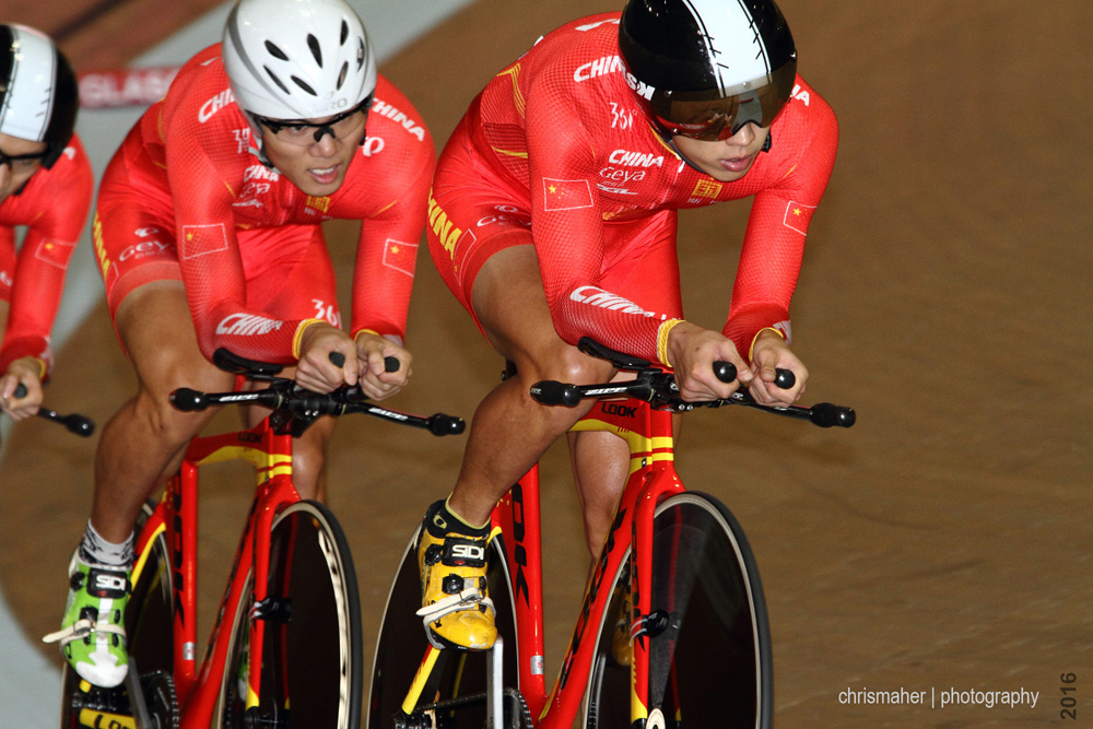 UCI Track World Cup 2016/7 | Glasgow - Round One - Team Pursuit Qualifying