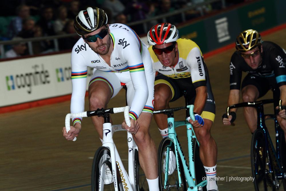 World Points Race Champion Jon Mould, Team Wiggins.