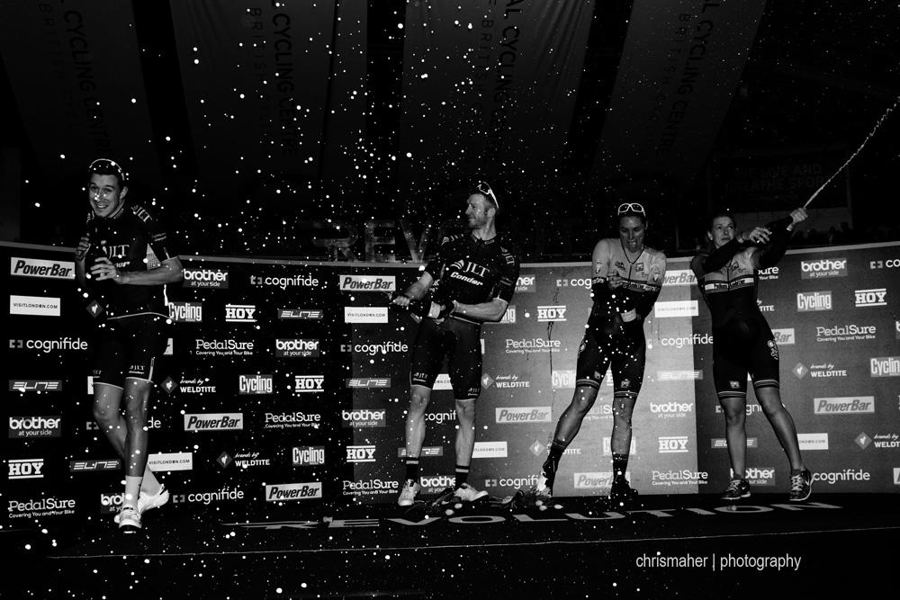 Revolution 61, Champions League 2016, Manchester. Saturday Session... Evening Elite Podium Winners