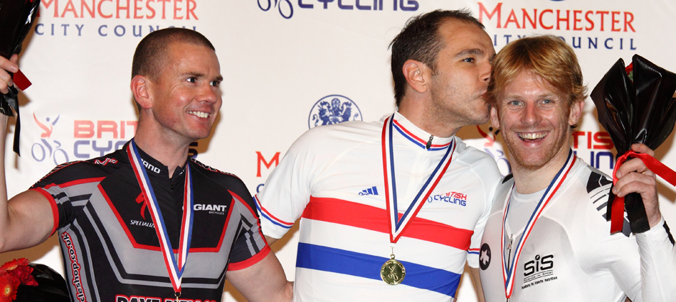 Para Cycling Open Pursuit Podium