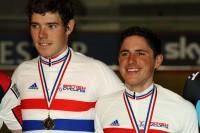 Gold for Pete Kennaugh & Luke Rowe