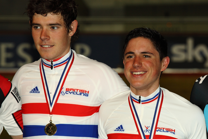 Gold for Pete Kennaugh & Luke Rowe