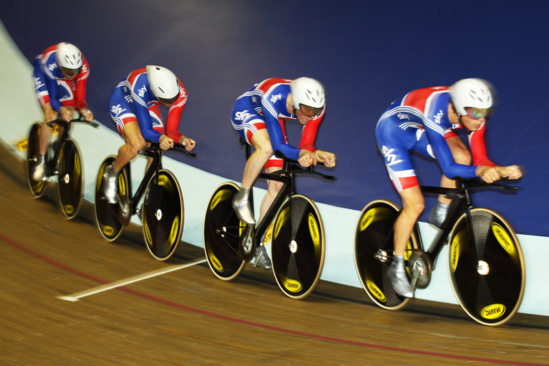 Team GB 4000m Pursuit Squad - Manchester 2009