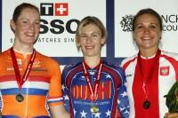 Women's Omnium Podium - UCI Track World Cup Classic