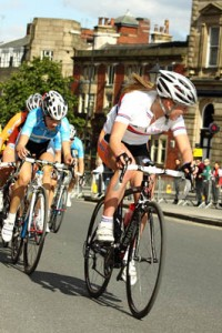Hannah Barnes - In the Sprinters Jersey
