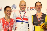 Women's 3000m IP - British National Track Championships 2011