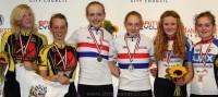 U16's Girls Madison Medals - British National Track Championship