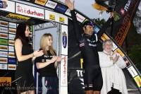 Race Winner Podium - Halfords Tour Series | Durham