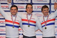 Open Team Sprint | British National Track Championships 2012